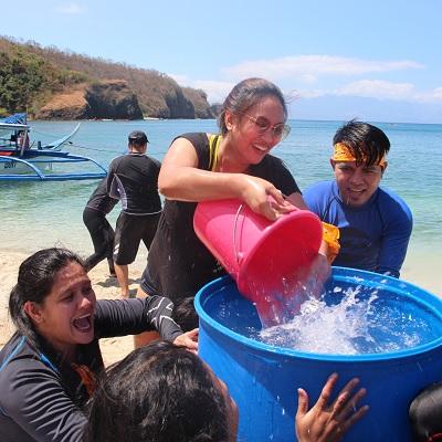 Beaches in Batangas: JP Morgan Chase Bank Experienced Batangas Beach Called Sepoc Beach Center