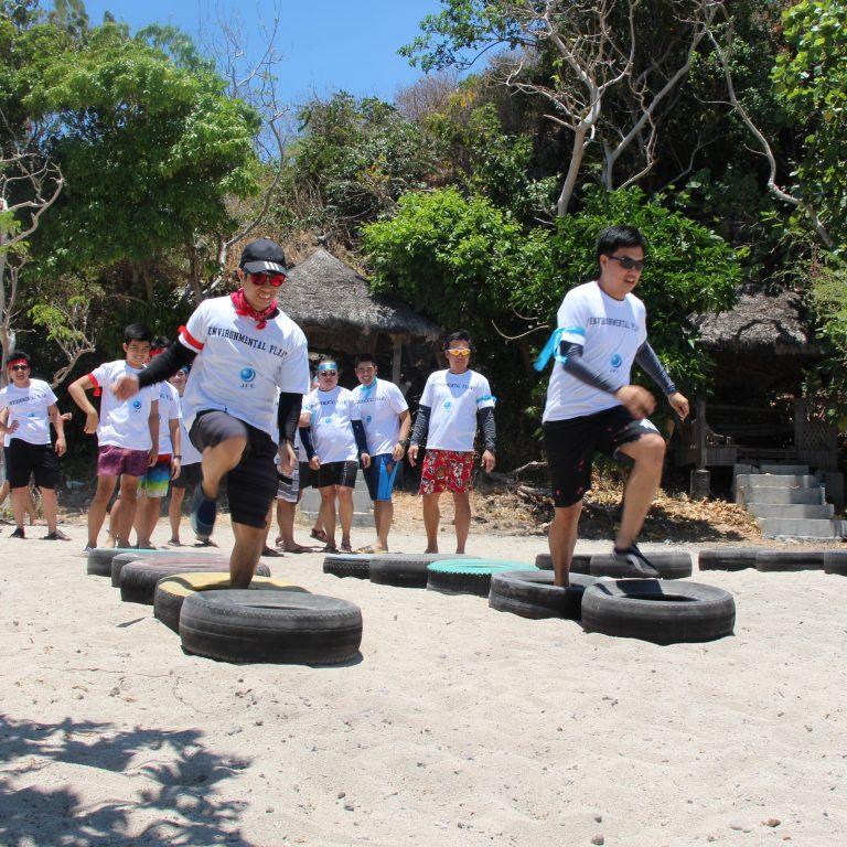 Batangas Beaches: JFE Techno Manila 2018 Team Building in a Beach Resort in Batangas