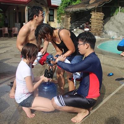 Beach in Batangas: Rain or Shine Sykes Asia will Still have FUN in Batangas Beach
