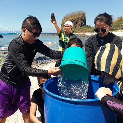 Beach in Batangas : Yuanta Savings Bank Employees had a joyous day at Eagle Point Beach Resort in Batangas