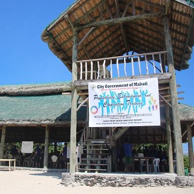 Beach in Batangas: Makati DEPW Challenged in a Famous Batangas Beach Resort