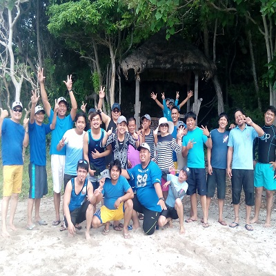 Batangas Beach Resorts: Terrenniel Scales Inc. Celebrates Christmas Party with a Bang at Eagle Point Resort