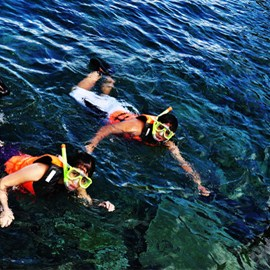 Guided Snorkeling with Overnight Package